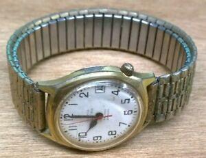 Working 1976 Bulova Accutron Railroad Approved Men's Wristwatch #2181