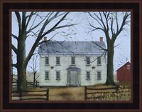 EARLY AMERICAN HOME by Billy Jacobs 15x19 FRAMED ART PRINT White House Farm HCD
