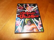THE SELF-DESTRUCTION OF THE ULTIMATE WARRIOR WWE Wrestling Wrestler DVD NEW