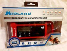 Midland ER210 Emergency Crank Weather Ready Radio Brand New Factory Sealed