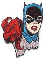 BATGIRL headshot EMBROIDERED IRON-ON PATCH dc comics batman *FREE SHIP* d 110008