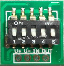 DC 3V-30V 6V 12V 24V DIP Timer Control Switch Module Relay LED Timing Controller