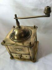 Kaffeemühle alt antik um 1920 Messing coffee grinder moulin a cafe