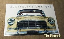 vintage FC HOLDEN TIN SIGN new ADVERT retro classic car metal picture Australian