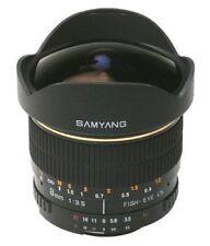 Objetivos manuales Canon EF F/3, 5 para cámaras