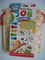 Kids Create Picture Educational Match Game Pair 20 Pcs 3+ Learning Activity