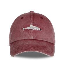 Sports Baseball Cap Shark Embroidery Ventilation 56-60cm Fashion Golf Hat Cotton