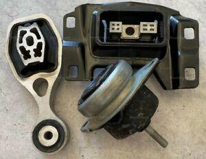 3pc Engine Trans Mounts fits Ford Explorer 2016 2017 2018 2019 2.3L Turbo AWD