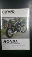New Clymer Honda Service Manual 400-450CC Twins 1978-1987 M334