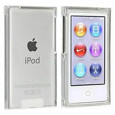 New Clear Crystal Cover Case Skin + Protective film For iPod Nano 7th & 8th gen