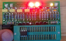 OP-AMP TESTER , SINGLE , DUAL AND QUAD , LM324 , NE5532 , TL082 AND MANY MORE