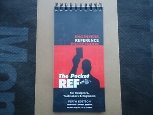 THE POCKET REF ENGINEERING REFERENCE BOOK - THREAD DATA FLIP CHART - ZEUS