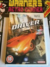 Driver Parallel Lines Nintendo Wii Retro Video Game Complete
