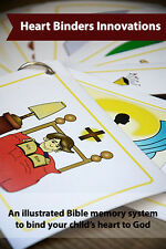 Psalm 91 Illustrated Bible Memory Flashcards for Children (Ages 4-11 years old)