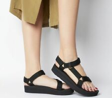 Womens Teva Midform Universal Sandals Black Sandals