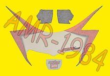SERIE ADESIVI FRONTALE CUPOLINO APRILIA RS 50 2002 NERO DIABLO  AP8627511