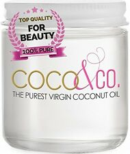 Coconut Oil For Hair and Skin By COCO and CO. Beauty Grade 100% RAW, 8oz.