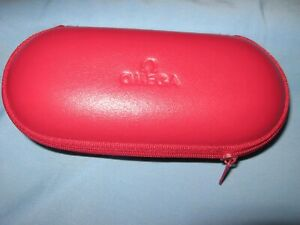 Omega Red Travel /Storage Zippered Case With Foam Linings