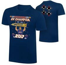 "WWE Seth Rollins NERDS X UPUPDWNDWN ""The Champ"" T-Shirt Size Large Slim Fit"