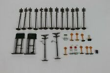 HO Scale Detailed Parts LOT Street Signs Telephone Poles
