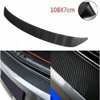 fibra de carbono Etiqueta de la placa del coche Faja de protección del tronco
