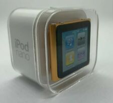 Apple Ipod Nano 6th 6. Generation Orange Gold 8GB New Sealed
