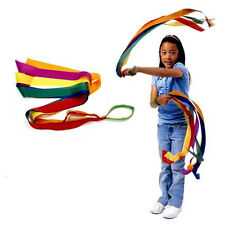 Rainbow Ribbon Kids Sport Rhythmic Gymnastics Exercise