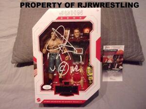 WWE JOHN CENA SIGNED & INSCRIBED MATTEL ULTIMATE EDITION ACTION FIGURE w/JSA COA