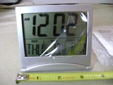 Big LCD Digital Desk Clock/Calendar/Thermometer (NEW) Travel Clock Alarm Clock