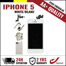 AA+ LCD TOUCH SCREEN VITRE SCHERM ÉCRAN FULL ASSEMBLY WHITE BLANC FOR IPHONE 5