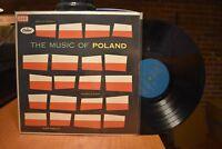 Music of Poland LP Capitol T10084 Mono