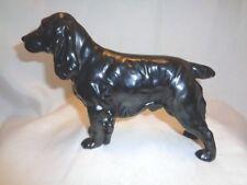 GOEBEL W. GERMANY LG BLACK COCKER SPANIEL DOG CH623