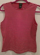 INC Size Large Red and White Striped Top! Hello 4th of July! Worn Once
