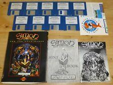 Simon IL Sorceror (Inc. suggerimento Book) - Acorn Archimedes PC RISC/etc/RISC OS