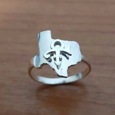 Texas State - Prince Symbol Ring - Prince Ring - Sterling Silver - Handmade