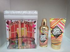 RITA BY BENEFIT SET: 1 FL OZ EDT SPRAY+ 2 OZ SILKY BODY LOTION WOMEN