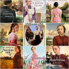 MIXED LOT 10 Christian fiction historical romance Amish books random SHIPS FREE