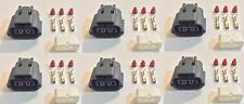 6x Plug connector harness pigtail for Nissan and Mazda ignition coils w/out wire