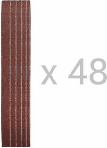 Gewebe-Schleifbänder │ 48 Stück │ 13 x 457 mm │ Körnung 80 │ Schleifpapier.