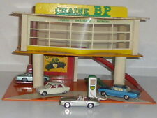 RARE ATOMIC FRANCE GARAGE STATION SERVICE CHAINE BP 40X25CM
