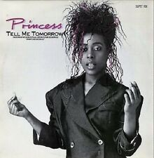 """Princess - Tell Me Tomorrow (2 Mixes) / Say I'm Your Number One (Demo) 12"""" 1986"""