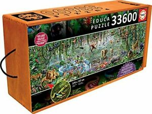 "33,600 Piece Educa Jigsaw Puzzle ""Wild Life"" Item# 16066"
