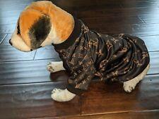 Black Designer Pet Dog Cat Sweater various sizes you choose