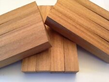 Pen Blanks - 1 Dozen Santos Mahogany Exotic Wood for Lathe Turning