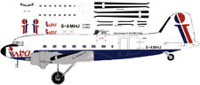 Intra Airways Douglas DC-3 C-47 airliner decals for Minicraft 1/144 kits