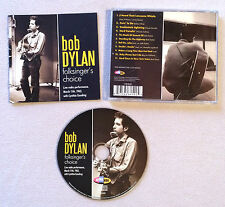 BOB DYLAN - FOLKSINGER'S CHOICE LIVE RADIO PERFORMANCE / CD ALBUM (ANNEE 2010)