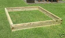 LARGE VERSATILE WOOD GARDEN POND / RAISED BED / PLANTER