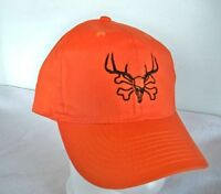 READING FARMS USA Orange baseball cap ball hat Hunting black LOGO