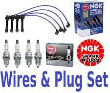 NGK Wires Set & 4-Pieces NGK Spark Plugs Civic 1.6  Liter