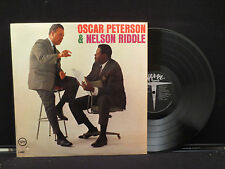Oscar Peterson & Nelson Riddle - Self Titled on Verve Records V-8562 Cut Out